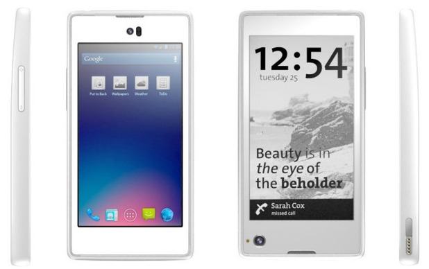 Yota Devices unveils dual-screen Android phone