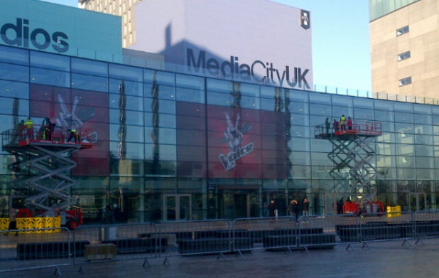 Filming starts in Manchester for the new season of 'The Voice UK'
