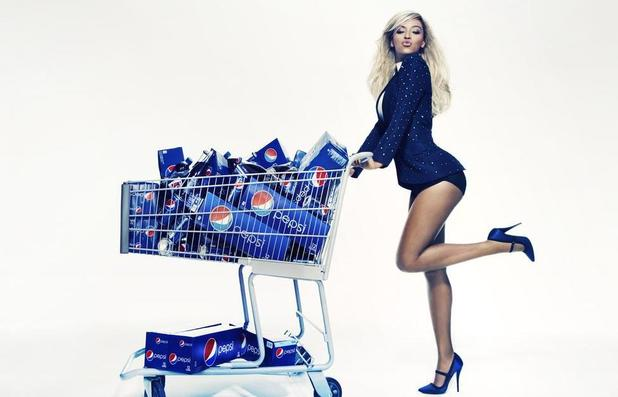 Beyonce features in new promotional picture for Pepsi