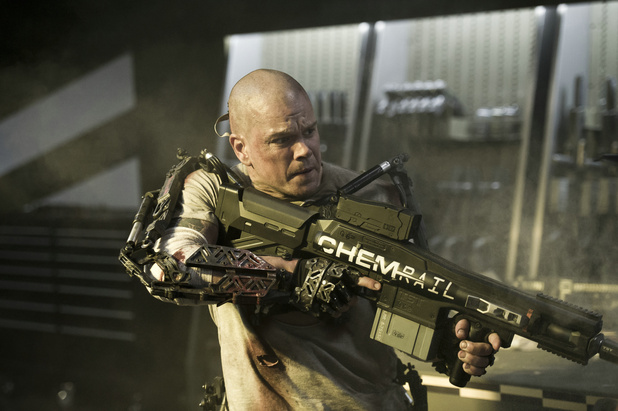 First image of Matt Damon in Elysium