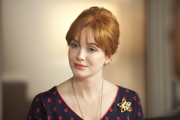 Christina Hendricks as Joan Harris in 'Mad Men'
