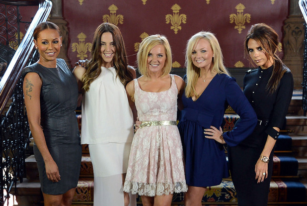 Viva Forever!' Spice Girls musical launch, London, Britain - 26 Jun 2012 The Spice Girls - Melanie Brown, Melanie Chisholm, Geri Halliwell, Emma Bunton and Victoria Beckham 26 Jun 2012