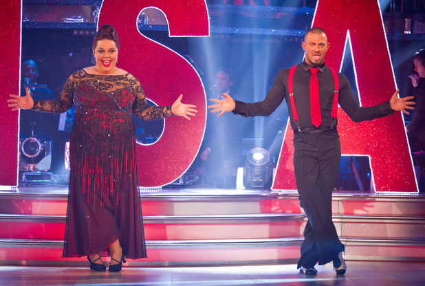 Strictly Come Dancing: Lisa and Robin.