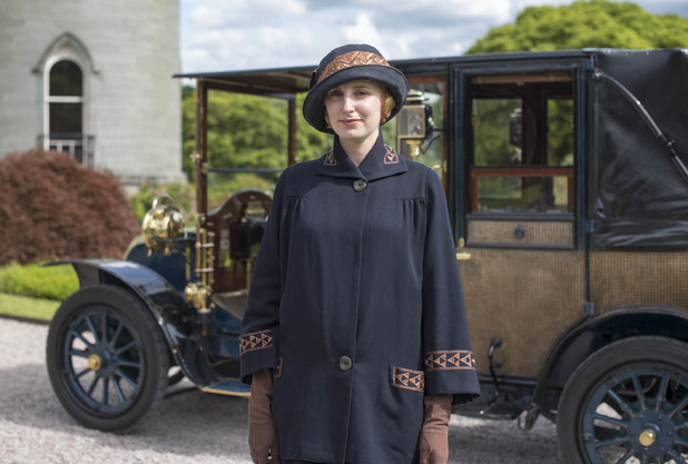 Downton Abbey - Christmas Special 2012: LAURA CARMICHAEL as Lady Edith