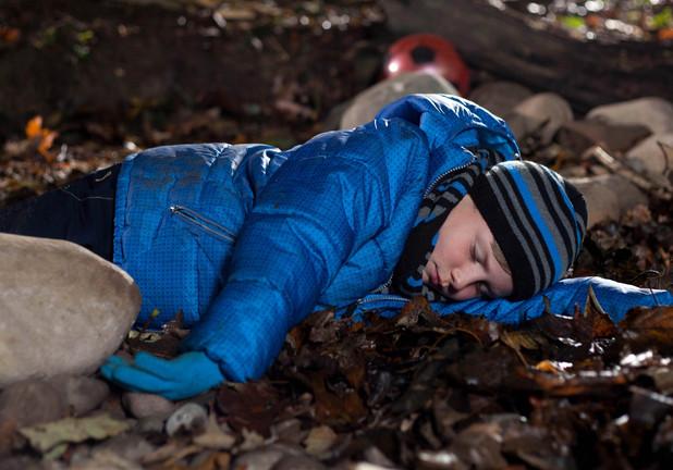 Charlie is left unconscious.
