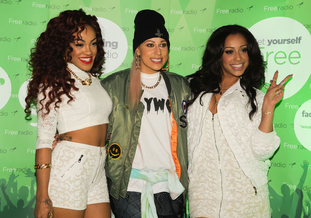 Stooshe at the BRMB Live event held in Birmingham.