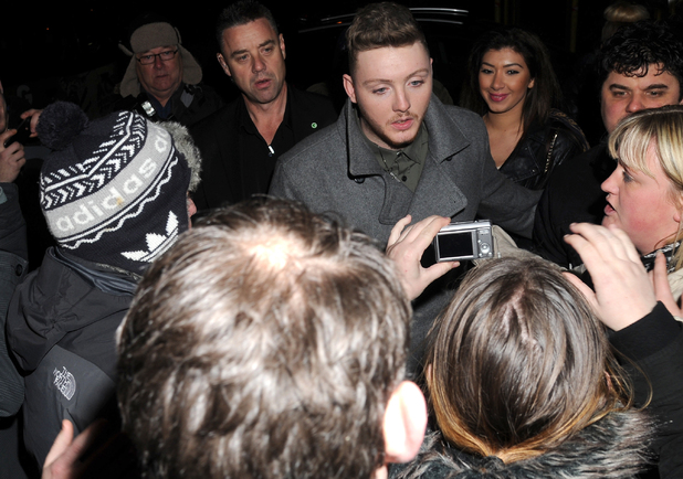 Celebrities leaving the X Factor finals held at the Manchester Convention CentreFeaturing: James Arthur, fans Where: Manchester, United Kingdom When: 09 Dec 2012 Credit: Steve Searle/WENN.com
