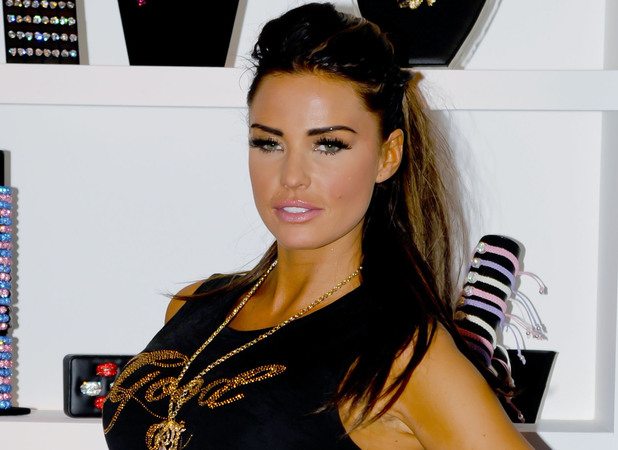 Katie Price promotes her range of jewellery at The Clothes Show Live 2012 at the NEC Birmingham Birmingham, England - 09.12.12 Mandatory Credit: Anthony Stanley/WENN