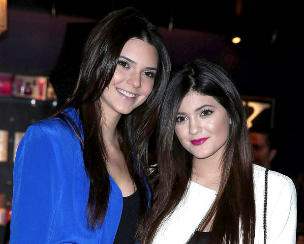 Kendall Jenner and Kylie Jenner appear at Kardashian Khaos inside The Mirage Hotel & Casino