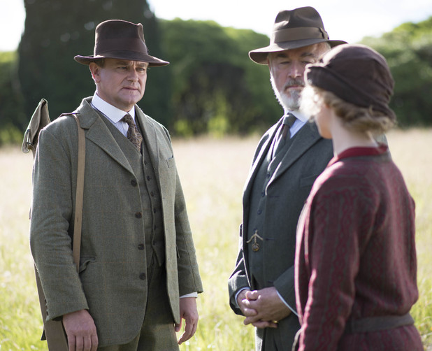 Lord Grantham, Shrimpie Flintshire and Lady Rose