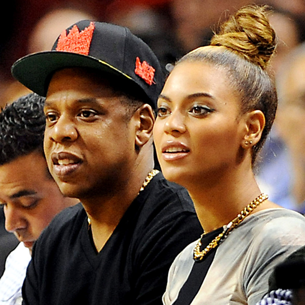 Atlanta Hawks v Miami Heat, NBA basketball game, Miami, America - 10 Dec 2012 Jay-Z and Beyonce 10 Dec 2012