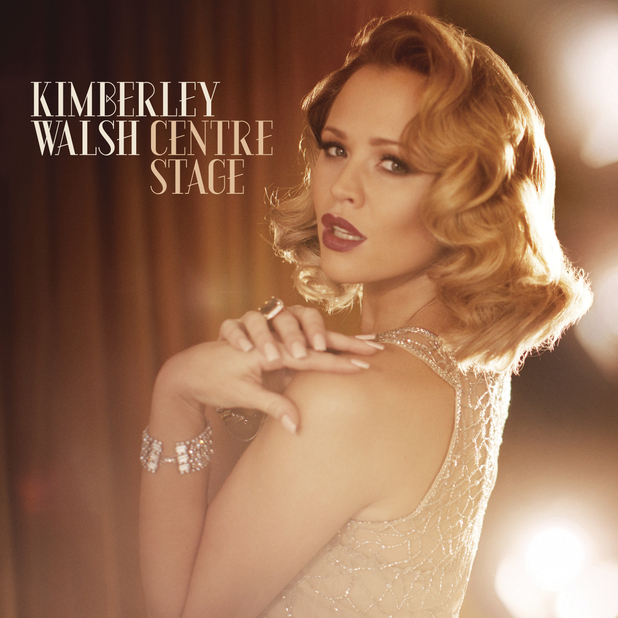 Kimberley Walsh &#39;Centre Stage&#39; album cover
