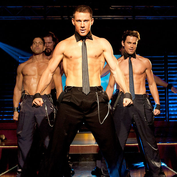 MAGIC MIKE, from left: Adam Rodriguez, Kevin Nash, Channing Tatum, Matt Bomer 2 Jul 2012