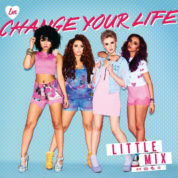 Little Mix 'Change Your Life' single artwork.