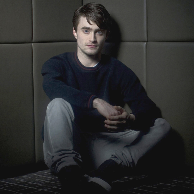 Daniel Radcliffe, press shot, The Woman in Black, January 2012