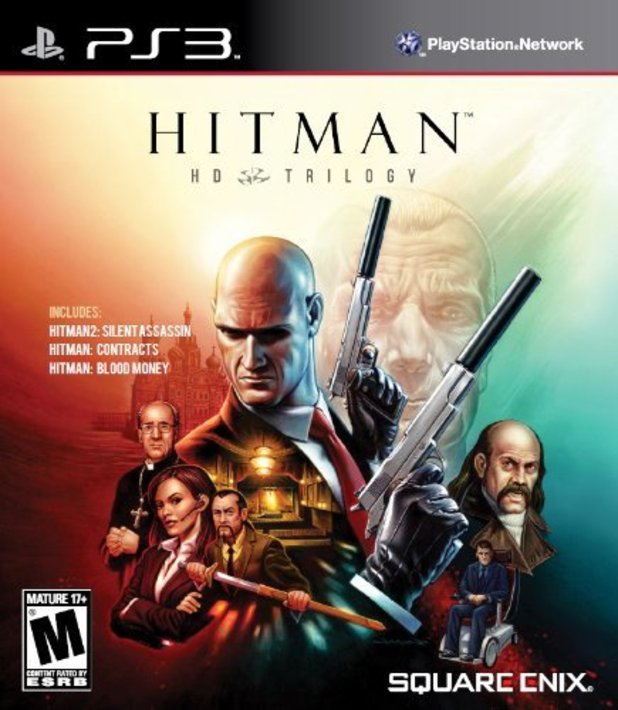 HItman HD Trlogy box art
