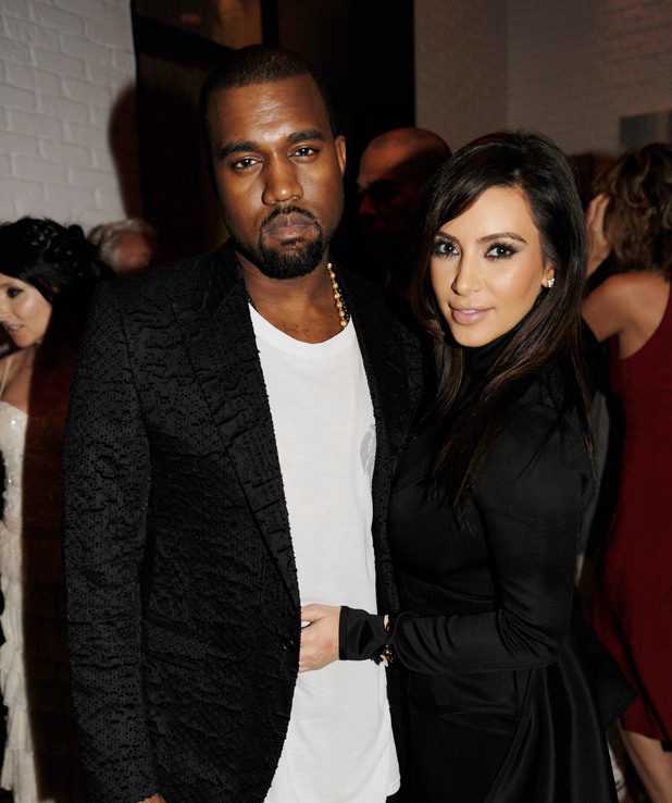 Miss Mode: Kanye West and Kim Kardashian at Dom Perignon