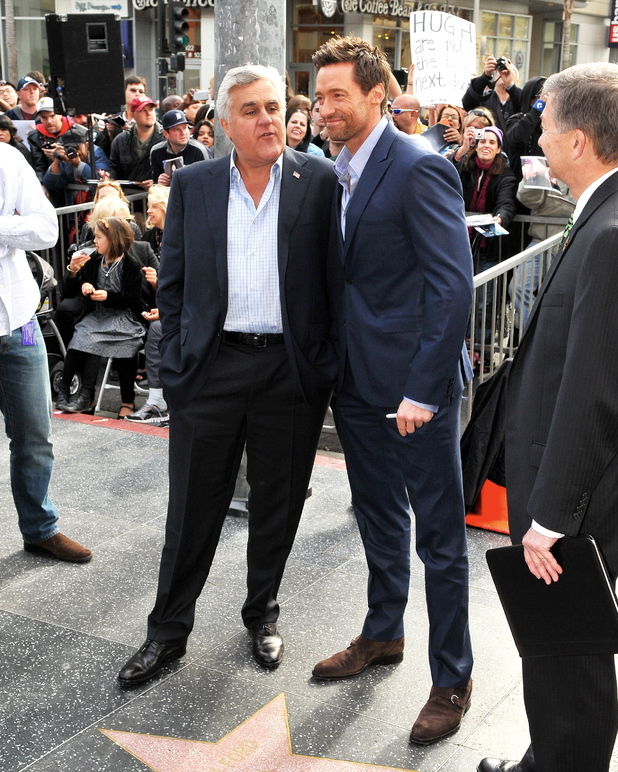 Hugh Jackman's Hollywood Walk of Fame star ceremony
