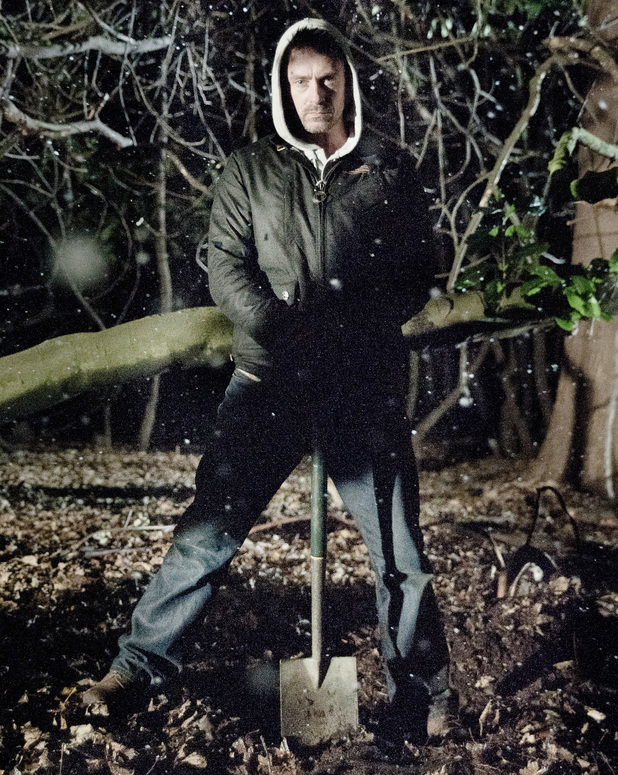 6432: Cameron buries his latest victim in the woods