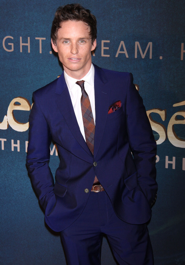 """Les Miserables"" New York Premiere -   Arrivals at the Ziegfeld Theatre Featuring: Eddie Redmayne Where: New York City, United States When: 10 Dec 2012 Credit: Joseph Marzullo/WENN.com"