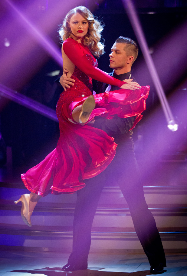 Strictly Come Dancing: Kimberley and Pasha.