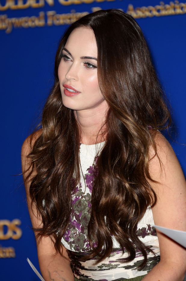 Megan Fox 70th Annual Golden Globe Awards nominations announcement, held at The Beverly Hilton Hotel Los Angeles, California - 13.12.12