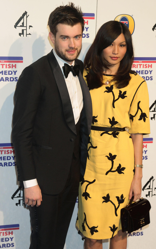 Jack Whitehall and Gemma Chan