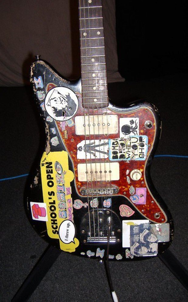 Sonic Youth stolen guitar