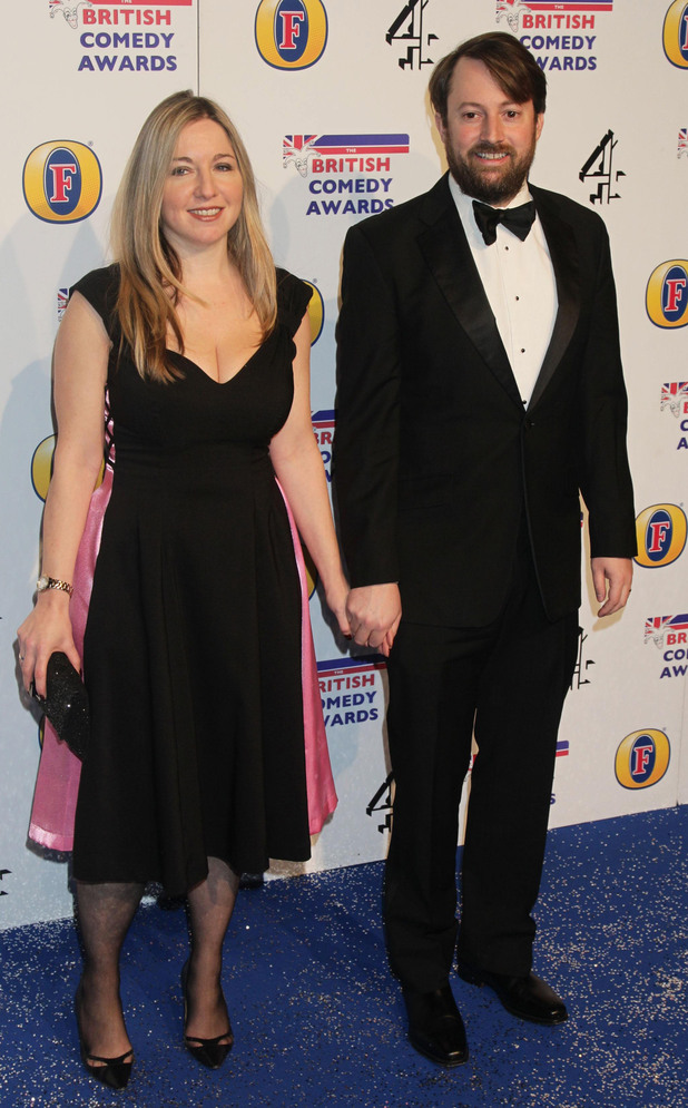 David Mitchell and his wife Victoria Coren