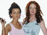 Russian Duo T.a.t.u Julia Volkova (left) And Lena Katina