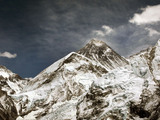 General view of Mount Everest in Nepal