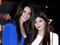 Kendall and Kylie Jenner say they try to focus on the positive side of fame.
