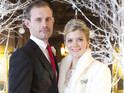 Coronation Street's Jane Danson wore Leanne's wedding dress for over two weeks.