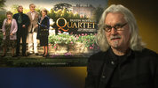 Sheridan Smith and Billy Connolly chat to Digital Spy about Dustin Hoffman's new film 'Quartet'