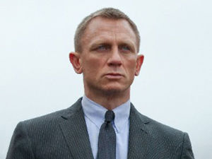Daniel Craig as James Bond in Skyfall in 2012