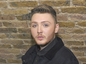 X Factor winner James Arthur holding a cake with his picture on it backstage at G-A-Y at Heaven nightclubFeaturing: James Arthur Where: London, United Kingdom When: 15 Dec 2012 Credit: Chris Jepson/WENN.com