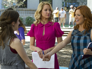 'Pitch Perfect' still: Brittany Snow and Anna Camp