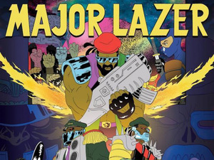 Major Lazer: 'Free The Universe' artwork