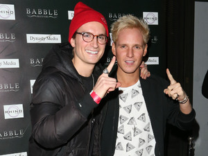 Made In Chelsea wrap party at Babble nightclubFeaturing: Oliver Proudlockll,Jamie Lang