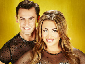 Dancing On Ice 2013: Lauren Goodger and Michael Zenezini
