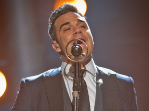Strictly Come Dancing Final: Robbie Williams performs