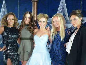'Viva Forever!' musical press night at The Piccadilly Theatre, London, Britain - 11 Dec 2012Spice Girls - Melanie Brown, Geri Halliwell, Melanie Chisholm, Emma Bunton and Victoria Beckham 11 Dec 2012