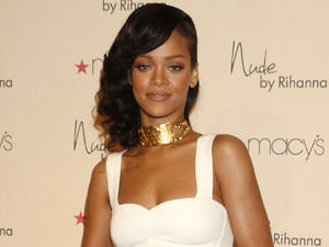 Recording artist Rihanna attends the launch of her third fragrance, Nude By Rihanna, at Macy's Westfield Century City at Macy's Westfield Century City on December 1, 2012 in Century City, California. (Photo by Todd Williamson/Invision/AP Images)