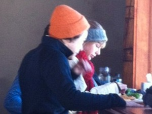 Harry Styles and Taylor Swift on romantic skiing break