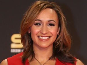 Jessica Ennis arriving for the Sports Personality of the Year Awards 2012, at the ExCel Arena, London