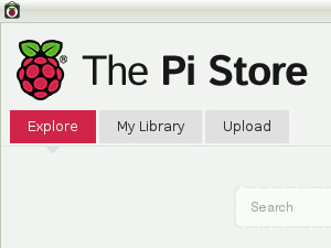 Raspberry Pi app store screenshot