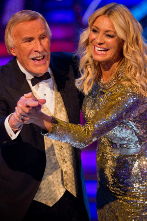 Strictly Come Dancing Final: Tess and Daly
