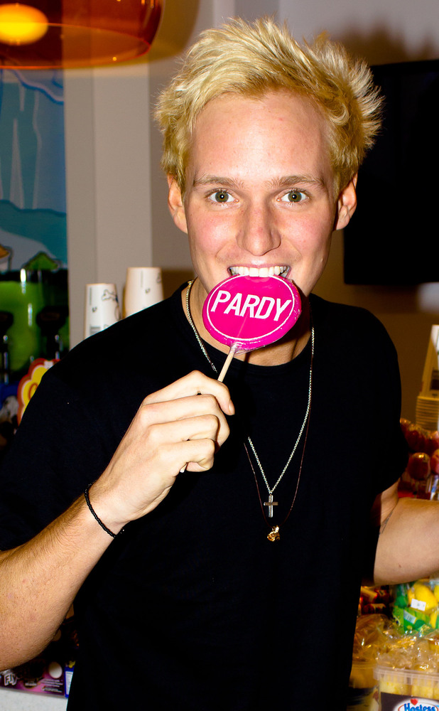 Jamie Laing 'Made In Chelsea' stars at Kingdom Of Sweets in The Lakeside Shopping Centre Essex, England - 26.11.12 Mandatory Credit: WENN.com