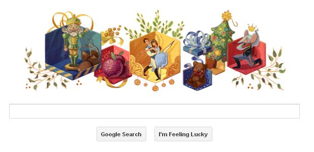 The Nutcracker - Google Doodle