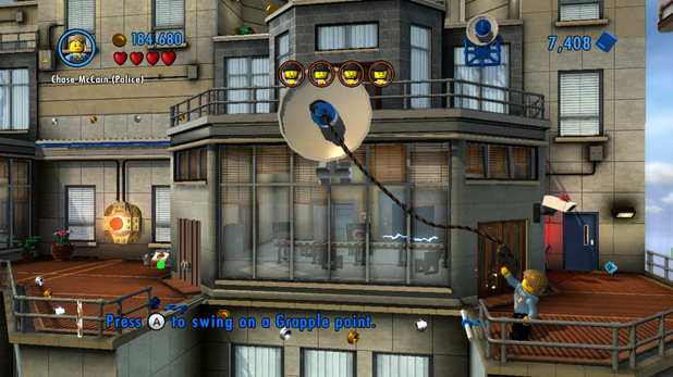 &#39;LEGO City Undercover&#39; screenshot